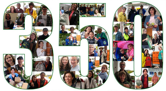 Shared Earth Network and 350.org - what a combination!
